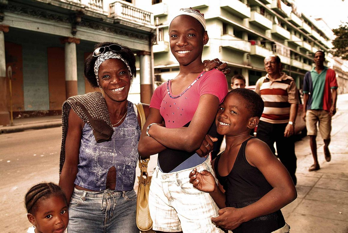 Little athletes: Faces of Cuba